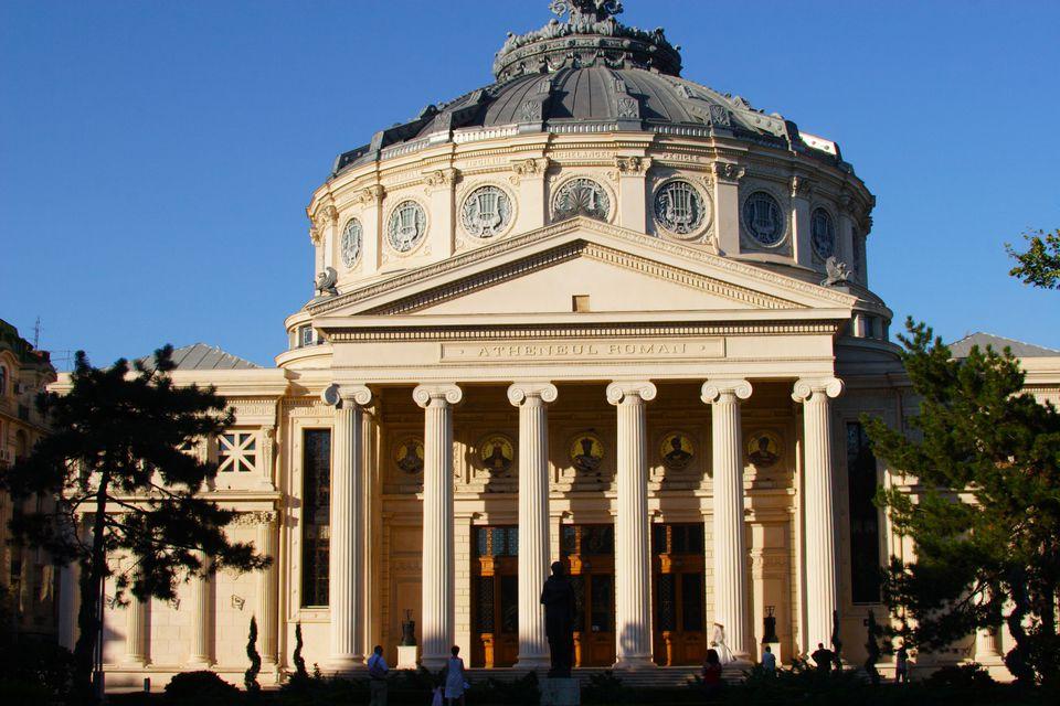 Atheneum Building in Bucharest