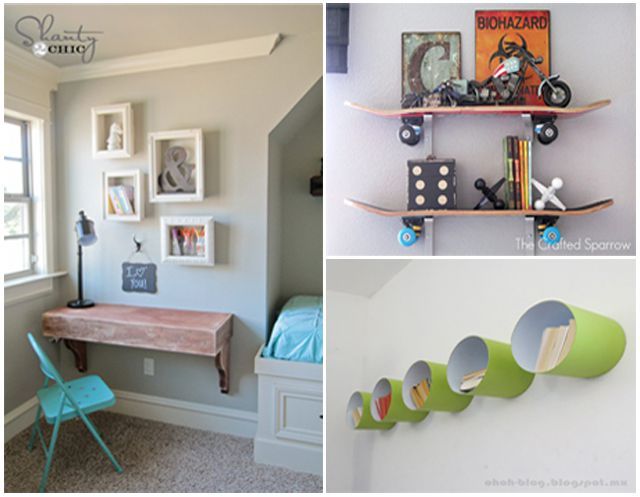 Diy shelves for nurseries and kids 39 rooms for Wall shelves kids room