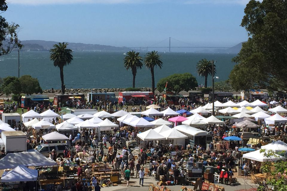 Treasure Island Flea Market in San Francisco