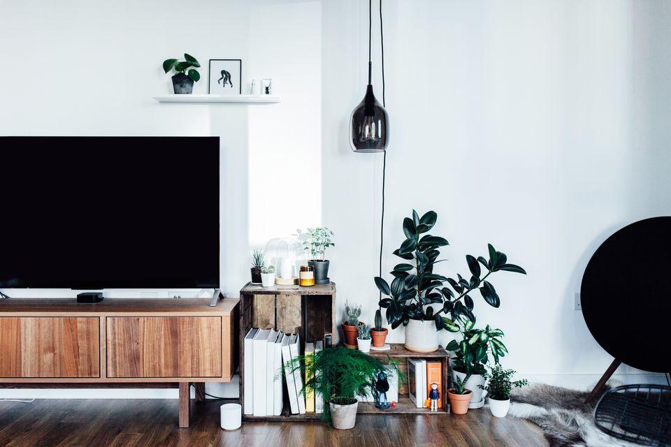 TV unit in living room