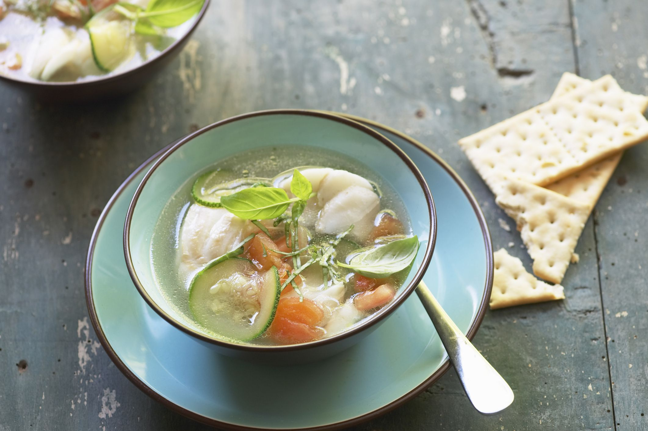 Basic fish or crab stock recipe for Fish broth recipe