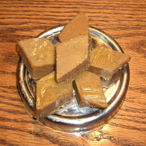 Besan Barfi Made With Butter