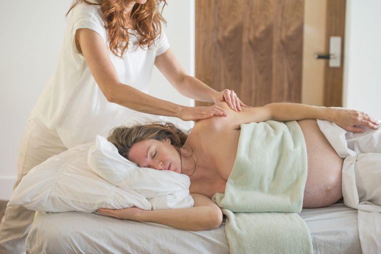 Masajes en el embarazo