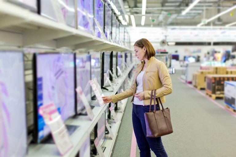 HDTV shopping