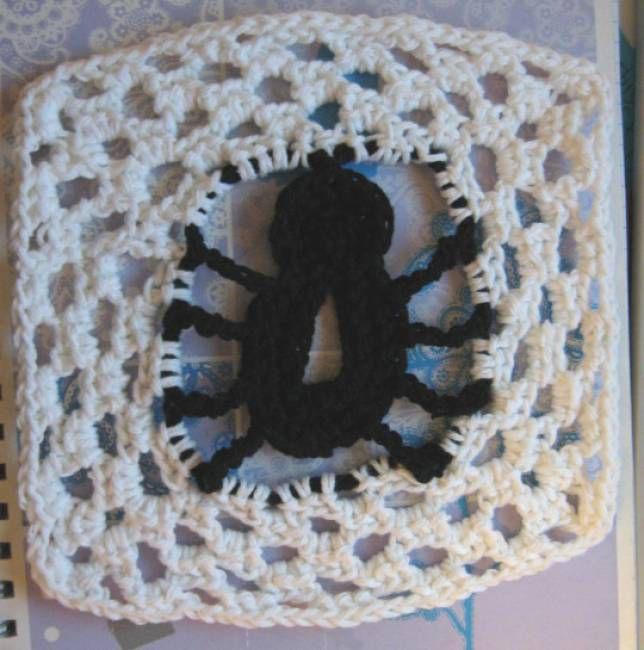 Spider Dishcloth Free Crochet Pattern