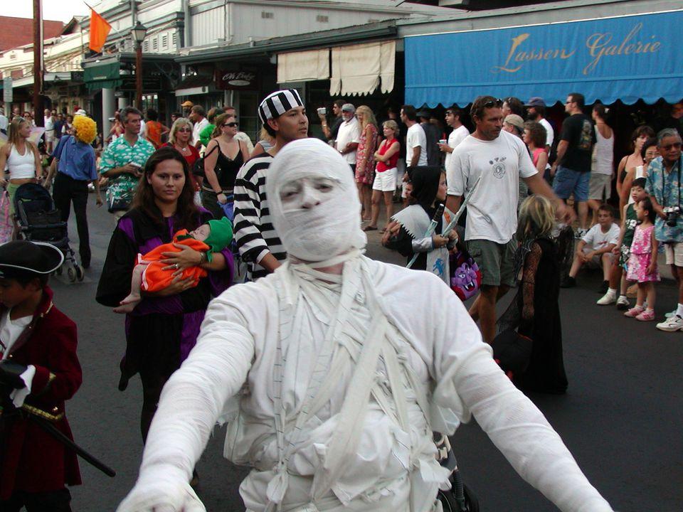 Halloween in Lahaina