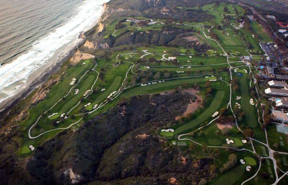 Golf Course - Overhead View