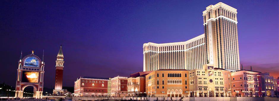Venetian Macau by night