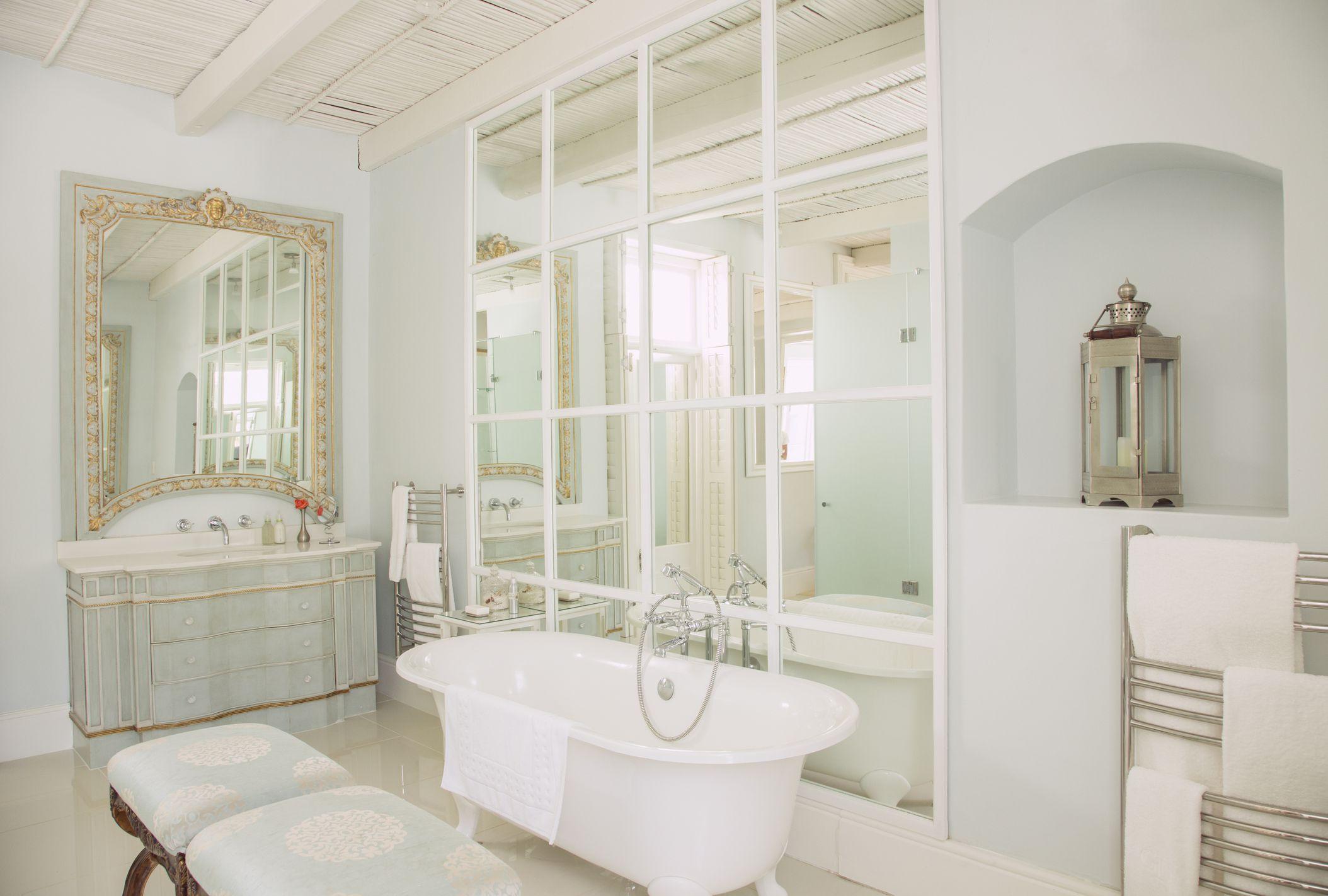 25 killer small bathroom design tips design tips for an elegant new bathroom dailygadgetfo Gallery