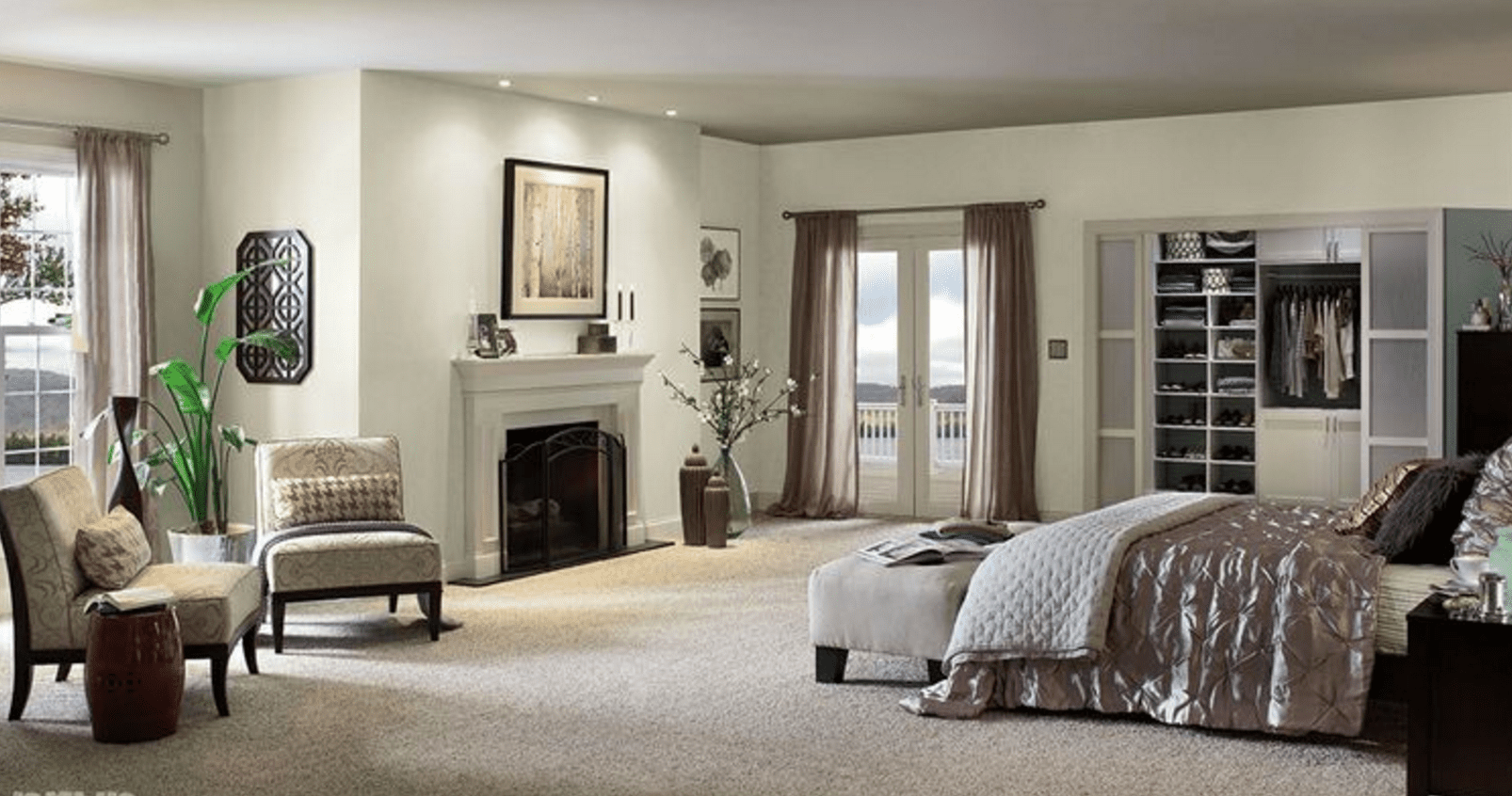 Living Room Paint Color Ideas With Wood Trim Small Spaces
