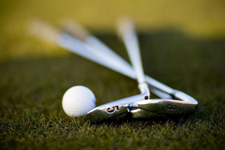 Golf Ball and Irons