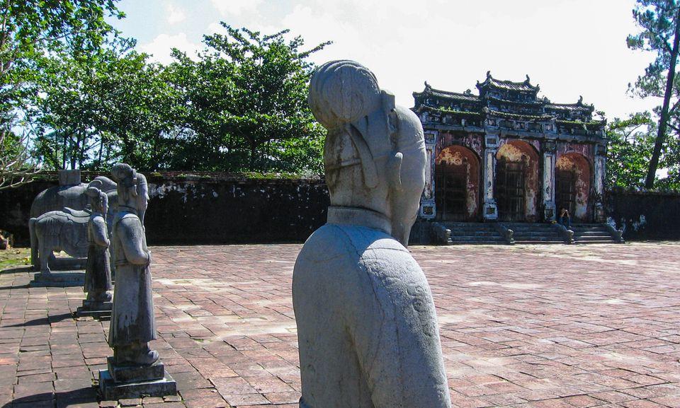 Forecourt at Minh Mang's Royal Tomb