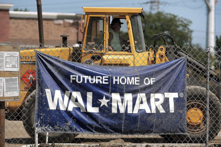 Construction of new Walmart stores signals the continued proletarianization of labor in the U.S.