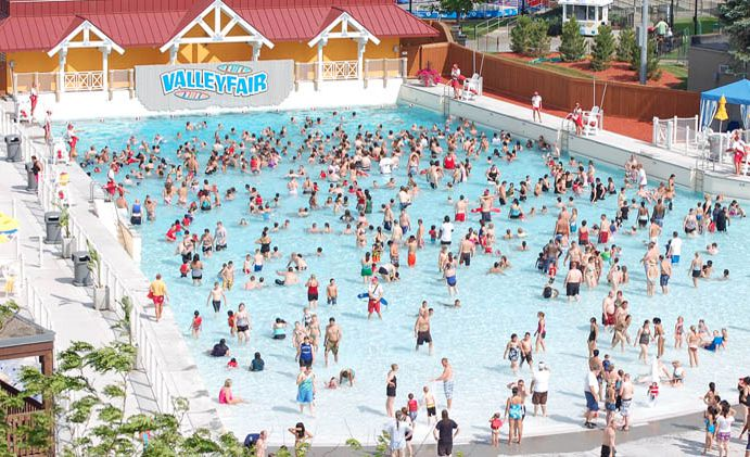Soak City water park at Valleyfair