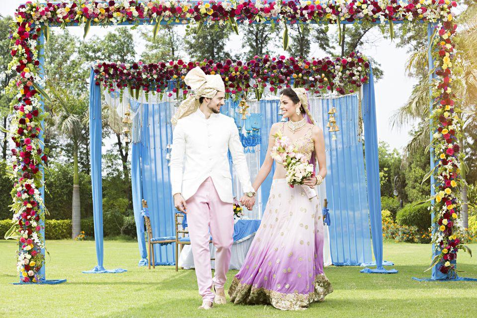 Wedding in India.