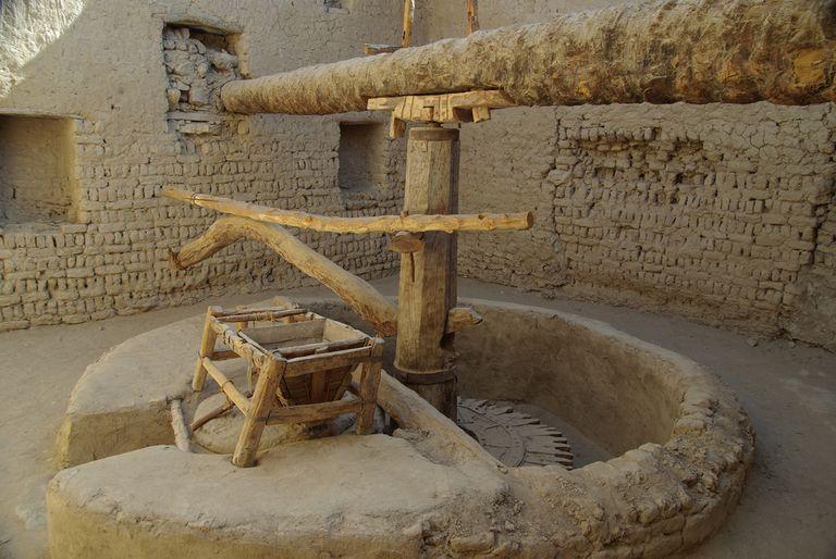 Flour Mill at the Dajla Oasis,, Egypt