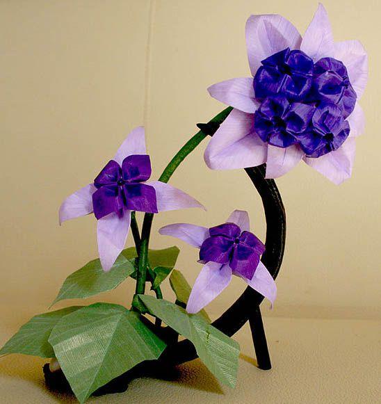 Different types of pretty origami flowers origami bonsai mightylinksfo