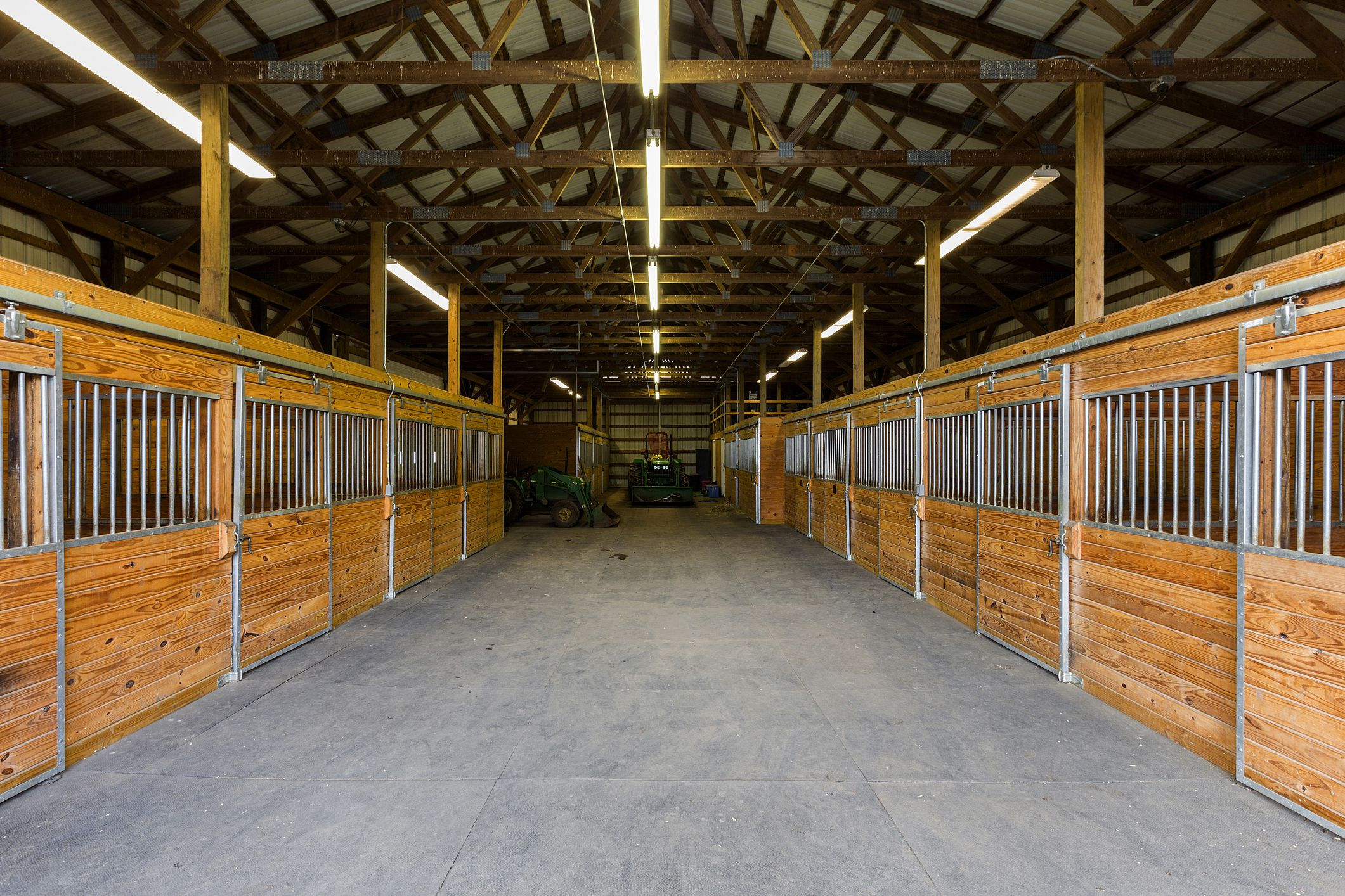 Lighting your stable for Horse barn materials