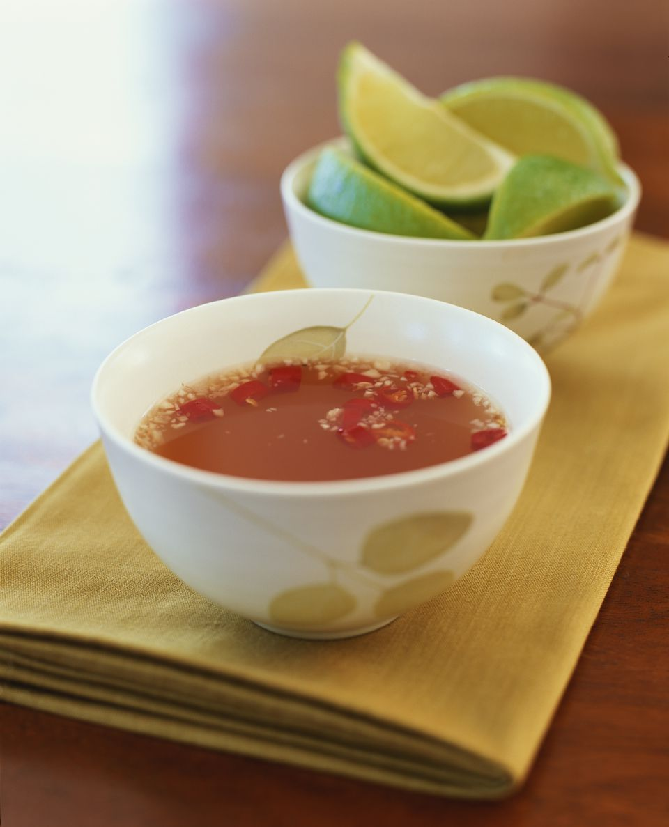 Sweet and sour vietnamese fish sauce recipe for Fish sauce ingredients