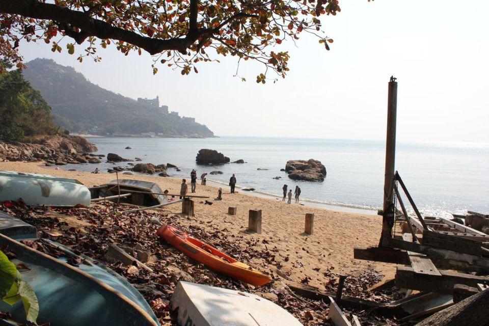 Stanley Beach in Hong Kong