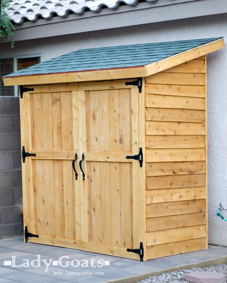 21 free shed plans that will help you diy a shed - Garden Sheds Wooden