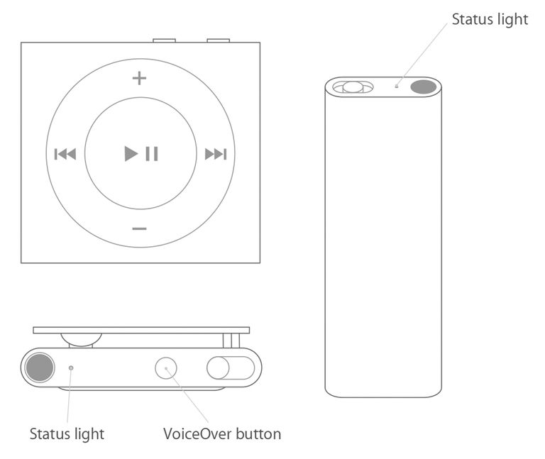 charging ipod shuffle
