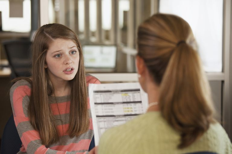 Talk to your teen about failing grades.