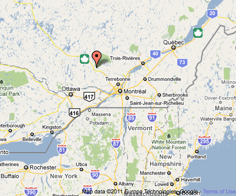 Overview Of Mont Tremblant Quebecs Biggest Ski Hill - Where is buffalo located