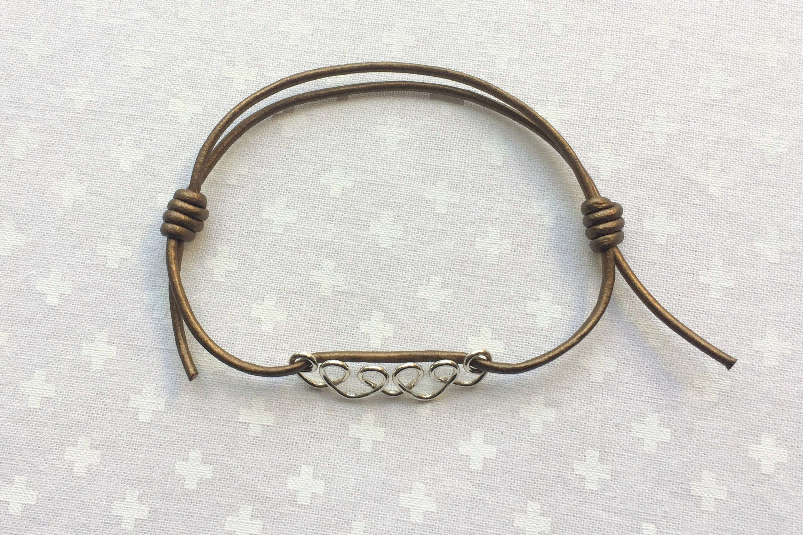 How To Make A Sliding Knot Bracelet