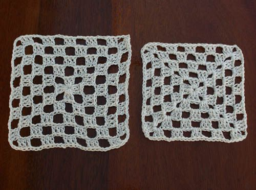 Summer Bedspread Granny Square Compared With Basic Granny Square