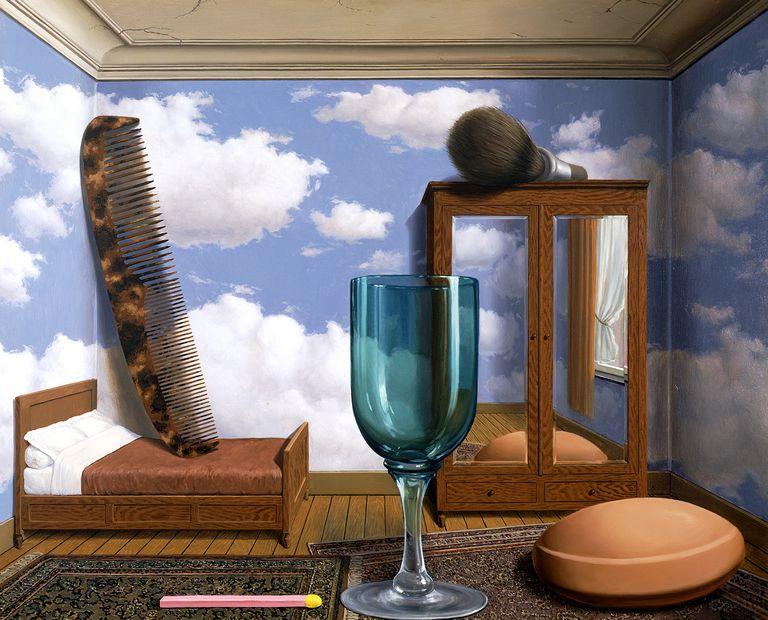 René Magritte - Personal Values, 1952