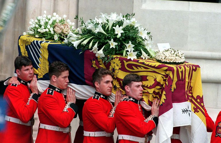 Image result for princess diana coffin hard