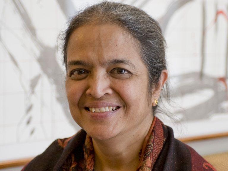 La economista y feminista india Gita Sen.
