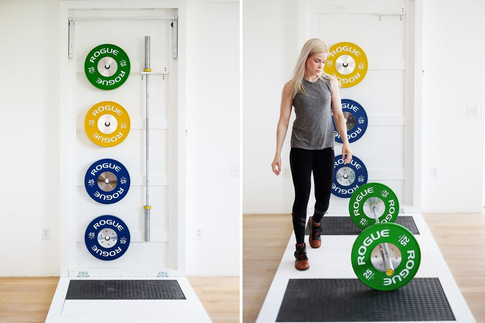 how to hide weights in home gym