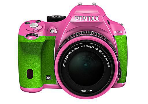 Pentax camera error messages