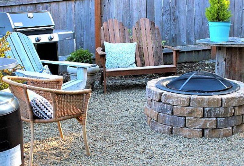 10 diy backyard fire pits diy kit fire pit solutioingenieria Images