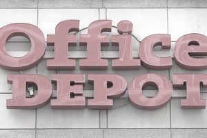 Office Depot Profile Mission History Trivia Category Killing Mergers Founders Scott Olson Getty Images