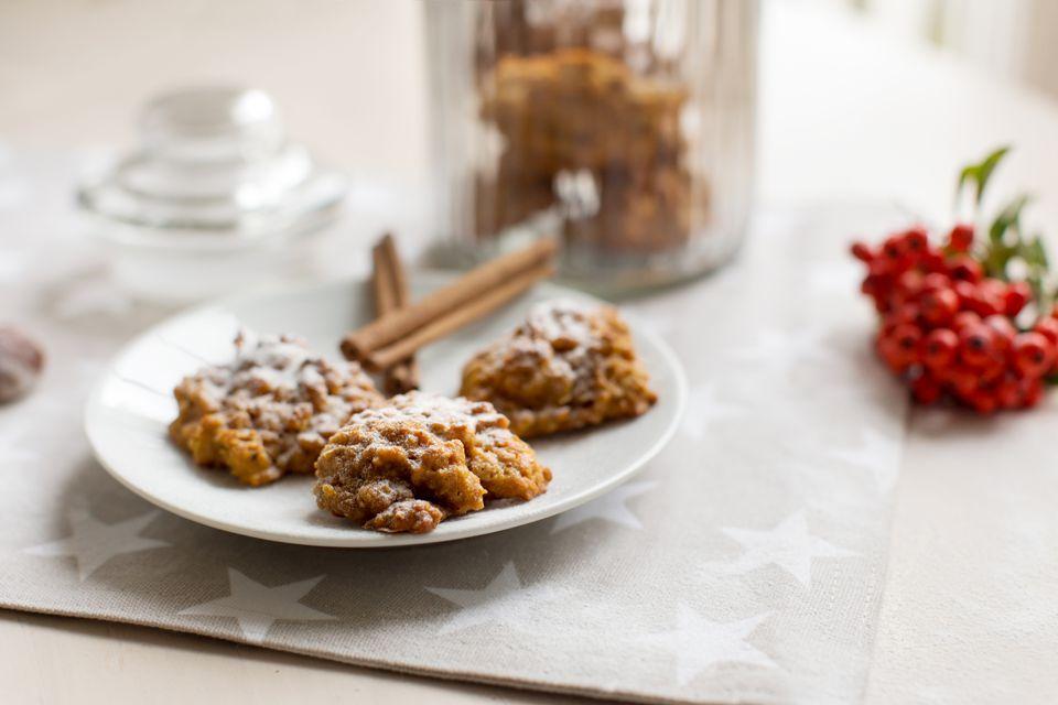 pumpkin oatmeal cookie