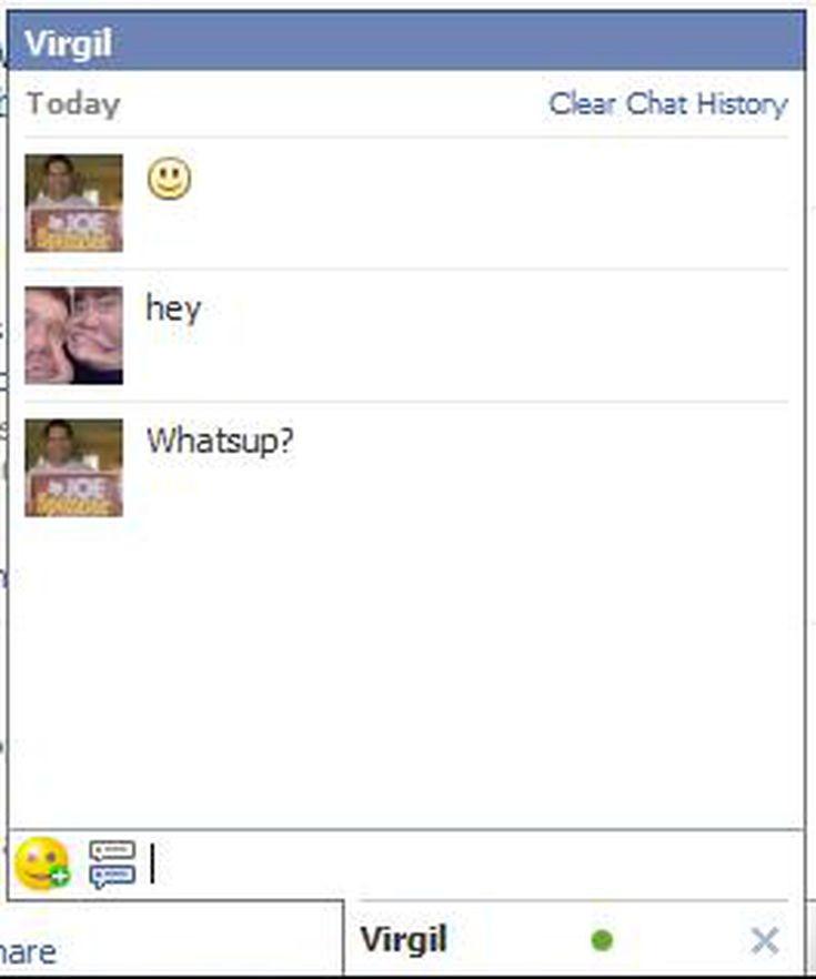 Delete your facebook chat history fast message better with this guide to facebook chat options ccuart Image collections