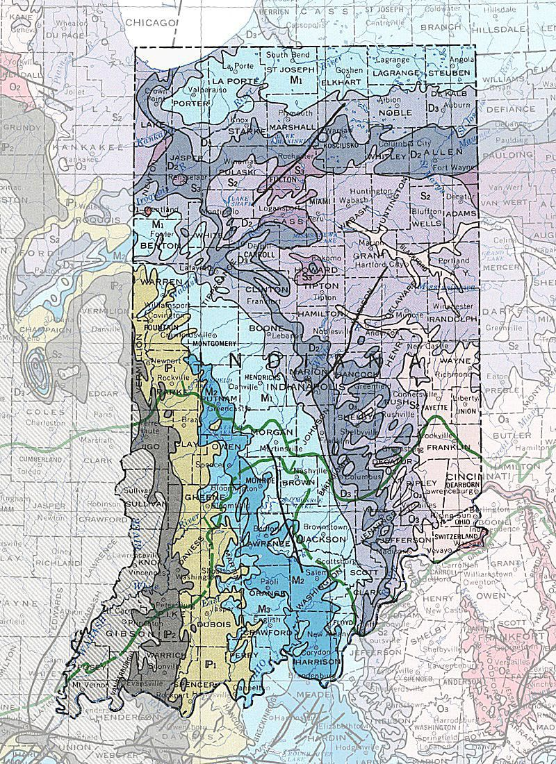 Geologic Maps Of The United States - Iron mines in us sw panhandle maps