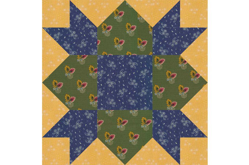 Weathervane Quilt Block Pattern