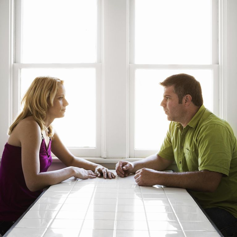 Couple Staring