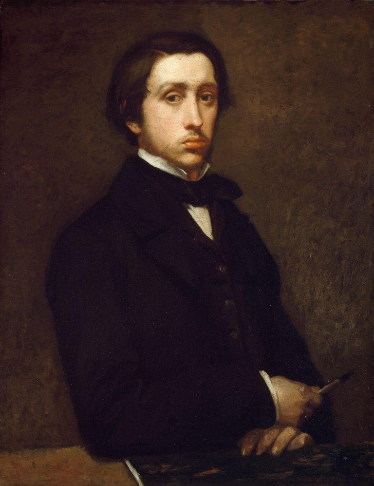 Edgar Degas Self-Portrait