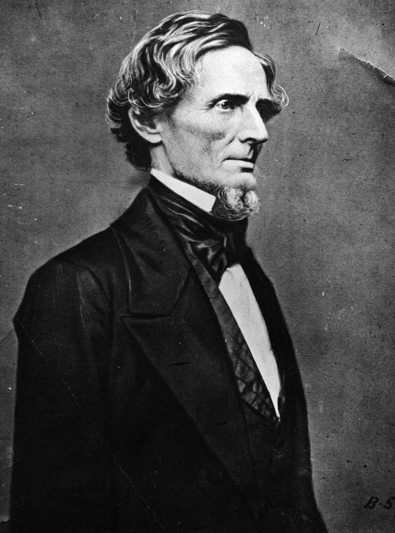 Jefferson Davis, President of the Confederacy
