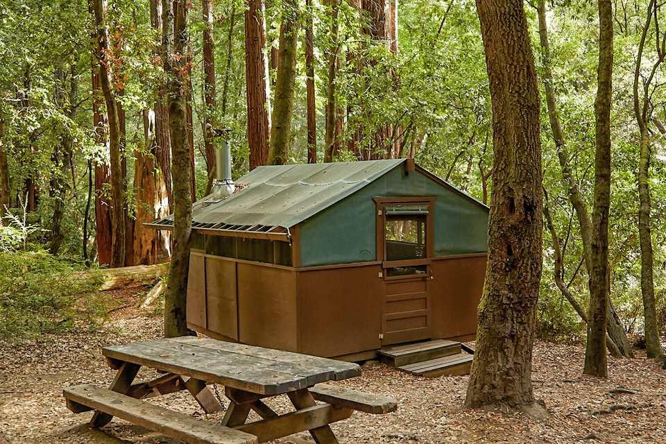 Tent Cabin at Big Basin Redwoods