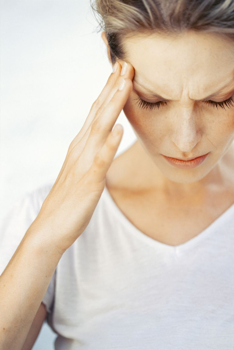 Runner with headache