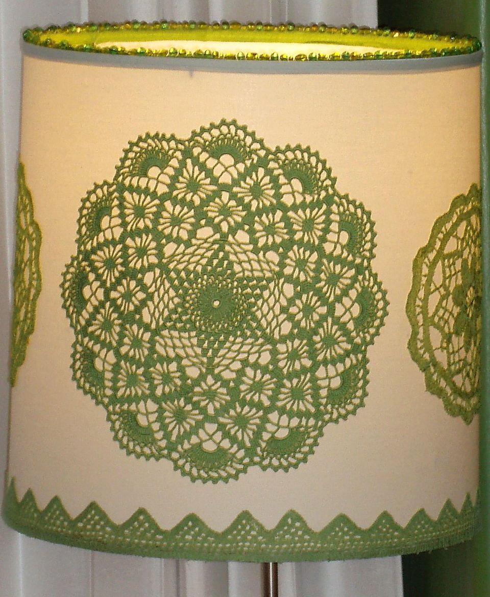 Make your own lampshades here 39 s how for Decorate your own lampshade