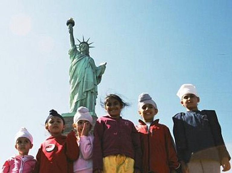 Proud Young Sikhs Americans