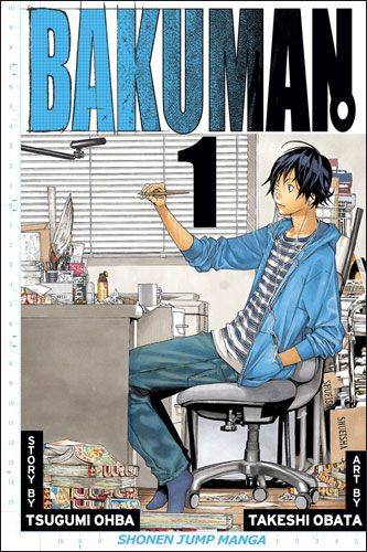 Bakuman Volume 1 by Tsugumi Ohba and Takeshi Obata, from Shonen Jump Manga / VIZ Media