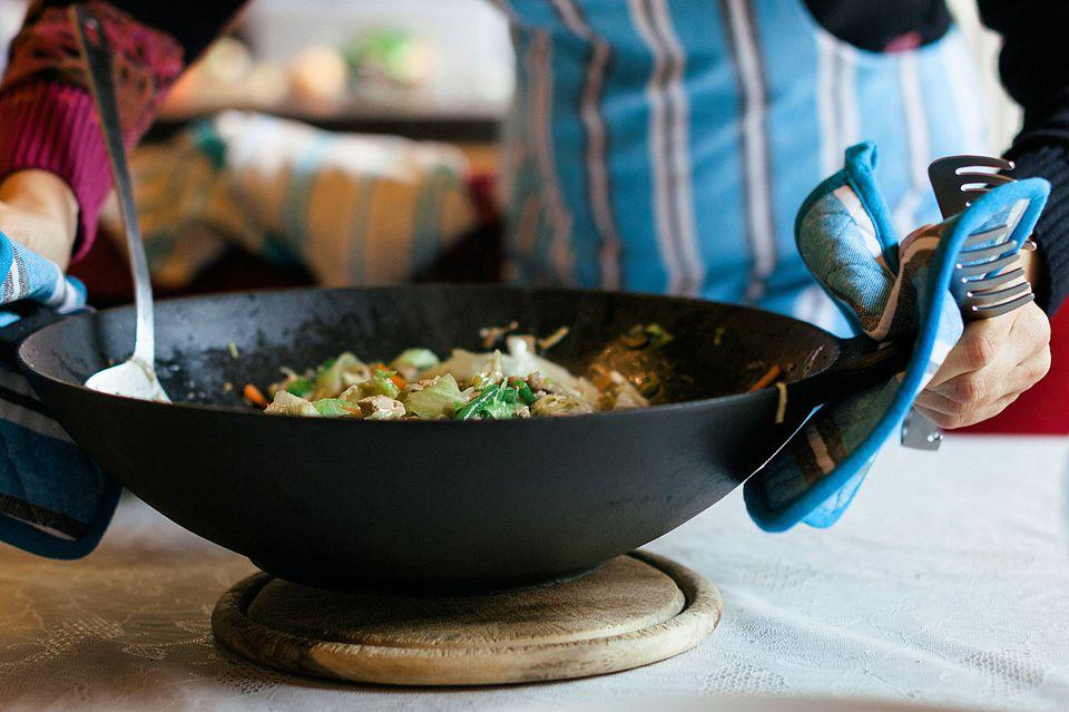 Chicken rice stir fry